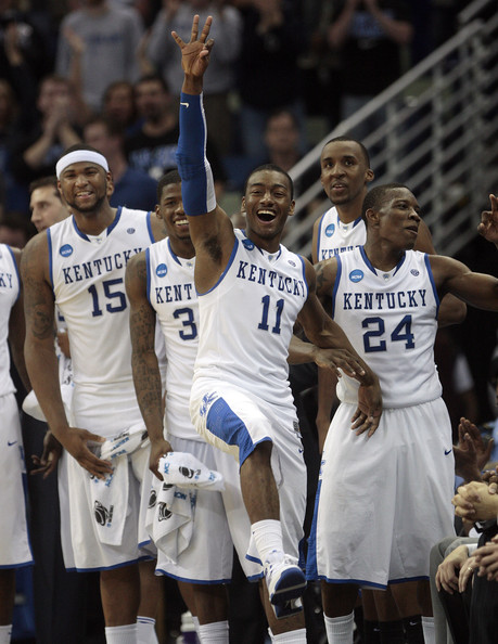 160dca602f11 DeMarcus Cousins and John Wall Photos»Photostream · Pictures · NCAA  Basketball Tournament - Second Round - New Orleans