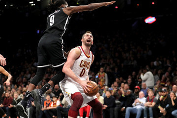 DeMarre Carroll Cleveland Cavaliers vs. Brooklyn Nets