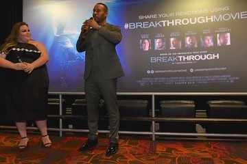 DeVon Franklin 'Breakthrough' Screening and Q&A with Producer DeVon Franklin And Actress Chrissy Metz At Regal Green Hills In Nashville, TN