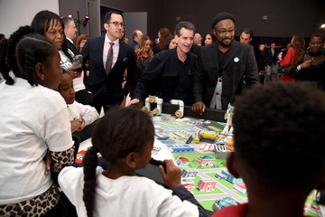 Dean Kamen will.i.am's i.am.angel Foundation TRANS4M 2018 Gala, Honoring Sean Parker, Chairman, Parker Institute for Cancer Immunotherapy