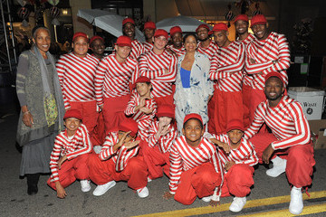 Debbie Allen Beverly Hills Holiday Lighting Ceremony on Rodeo Drive