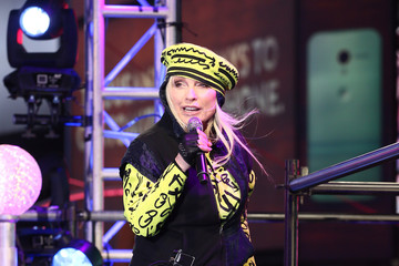 Debbie Harry New Year's Eve Celebrated in Times Square