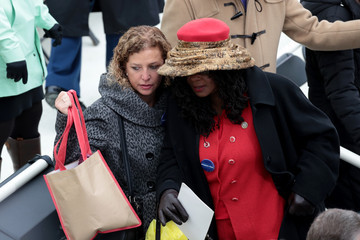 Debbie Wasserman Schultz Donald Trump Is Sworn In As 45th President Of The United States