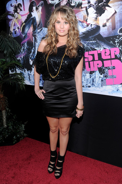 """Debby Ryan Actress Debbie Ryan arrives to the world premiere of Touchstones Pictures and Summit Entertainment's """"Step Up 3D"""" held at the El Capitan Theatre on August 2, 2010 in Hollywood, California."""