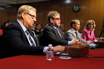 Deborah Birx Sir Elton John Testifies Before U. S. Congress to Urge Critical Support in Global Fight Against HIV/AIDS
