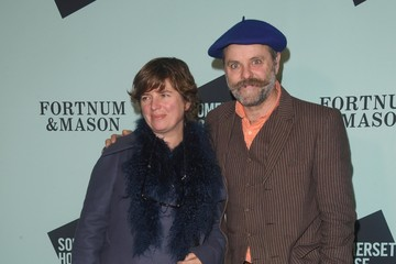Deborah Curtis Skate At Somerset House With Fortnum And Mason VIP Launch - Red Carpet Arrivals