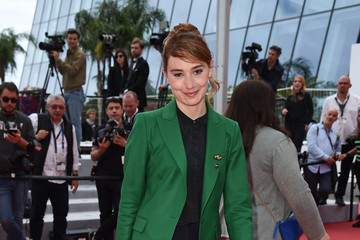Deborah Francois 'Young Ahmed (Le Jeune Ahmed)' Red Carpet - The 72nd Annual Cannes Film Festival
