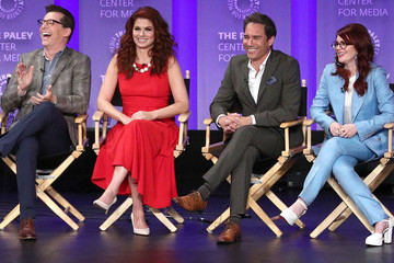 Debra Messing Eric McCormack The Paley Center For Media's 35th Annual PaleyFest Los Angeles - 'Will & Grace' - Inside