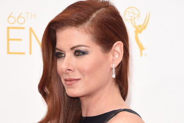 Debra Messing Arrivals at the 66th Annual Primetime Emmy Awards — Part 2