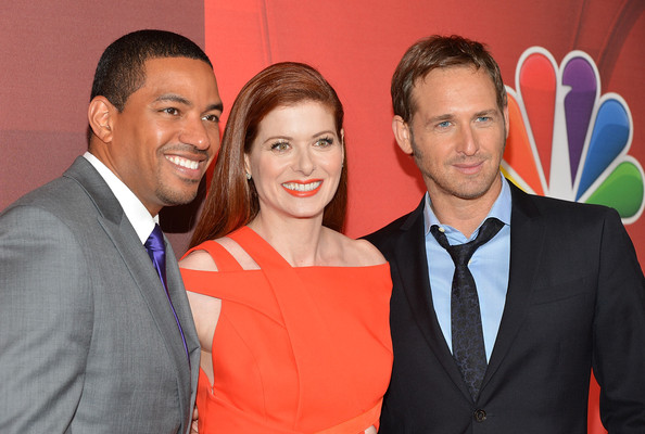 Debra Messing and josh lucas
