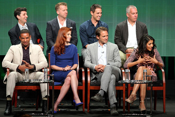 Debra Messing 2014 Summer TCA Tour: Day 6