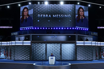 Debra Messing Democratic National Convention: Day Two