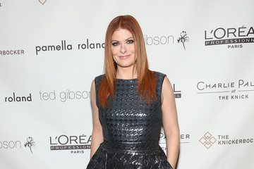 Debra Messing Ted Gibson's 50th Birthday Party