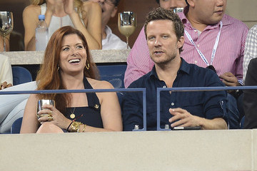 Debra Messing Will Chase Celebs Mingle at the Moet and Chandon Suite
