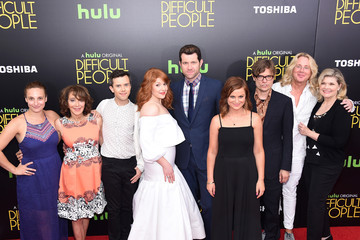 Debra Monk Guests Attend the 'Difficult People' New York Premiere
