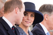 (L-R) Prince William, Duke of Cambridge and Catherine, Duchess of Cambridge during the dedication service of The Iraq and Afghanistan memorial at Horse Guards Parade on March 9, 2017 in London, England.