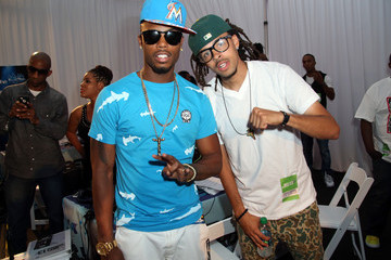 Dee-1 Radio Room Arrivals at the BET Awards