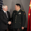 Liang Guanglie US Defence Secretary Robert Gates Attends ASEAN Meeting In Vietnam