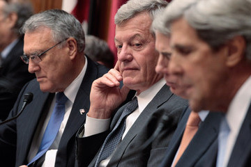 John Kerry The Deficit Reduction Super Committee Holds Meeting For Opening Statements