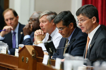 James Clyburn Xavier Becerra The Deficit Reduction Super Committee Holds Meeting For Opening Statements