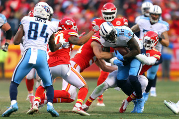 Delanie Walker Wild Card Round - Tennessee Titans v Kansas City Chiefs