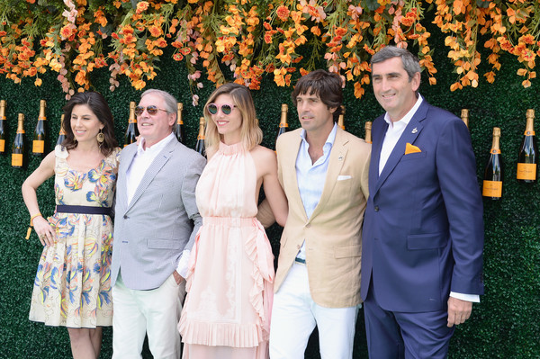 The Tenth Annual Veuve Clicquot Polo Classic - Arrivals [photograph,event,ceremony,yellow,wedding,dress,fun,happy,formal wear,wedding reception,arrivals,vanessa kay,svp,delfina blaquier,nacho figueras,jim clerkin,jean-marc gallot,moet hennessy north america,liberty state park,veuve clicquot polo classic]