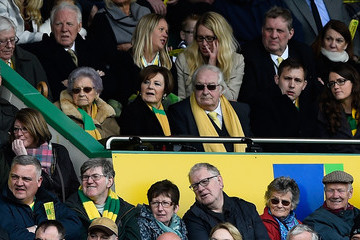 Delia Smith Norwich City v Sunderland - Premier League