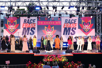Delina Dilargachew Charlette Diaz 28th Annual Race to Erase MS: Drive-In Gala