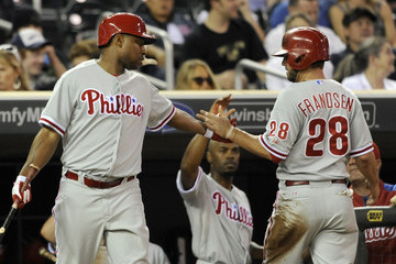 Delmon Young Philadelphia Phillies v Minnesota Twins