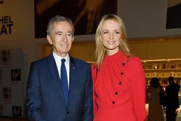 Delphine Arnault Opening Of The New Exhibitions Jean-Michel Basquiat And Egon Schiele At The Fondation Louis Vuitton