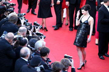 Delphine Chaneac Celebs Hit the Red Carpet in Cannes