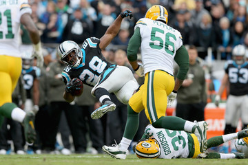 Demetri Goodson Green Bay Packers v Carolina Panthers