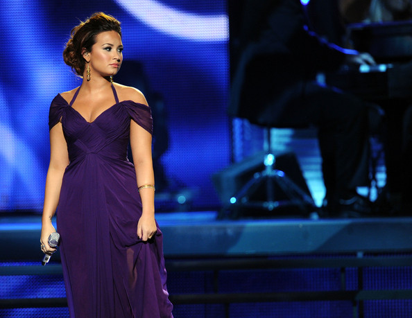Demi Lovato Singer Demi Lovato performs onstage during the 12th annual Latin GRAMMY Awards at the Mandalay Bay Events Center on November 10, 2011 in Las Vegas, Nevada.
