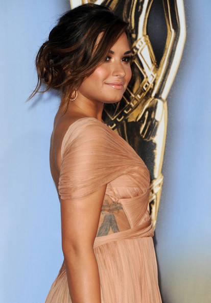 Demi Lovato Actress Demi Lovato arrives at the 2011 NCLR ALMA Awards held at Santa Monica Civic Auditorium on September 10, 2011 in Santa Monica, California.