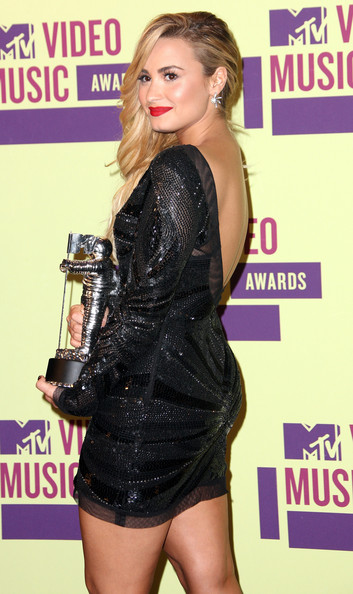 Demi Lovato - 2012 MTV Video Music Awards - Press Room