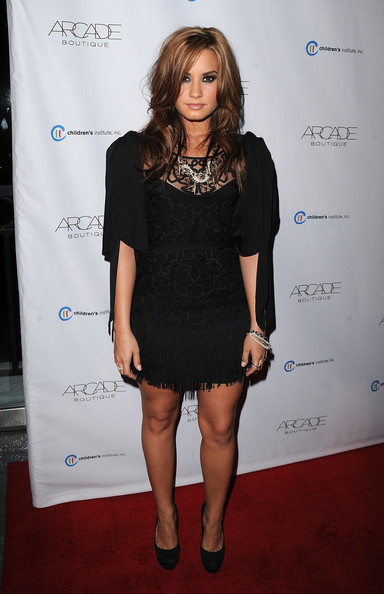 Demi Lovato - ARCADE Boutiques Autumn Party Benefiting Children's Institute - Arrivals