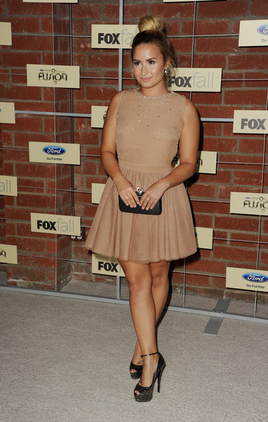 Demi Lovato - FOX's Fall Eco-Casino Party