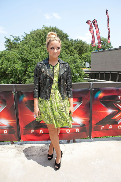 "Demi Lovato - Fox's ""The X Factor"" Auditions - Austin, Texas"