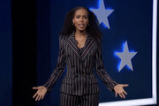 In this screenshot from the DNCC's livestream of the 2020 Democratic National Convention, actress and activist Kerry Washington addresses the virtual convention on August 19, 2020.  The convention, which was once expected to draw 50,000 people to Milwaukee, Wisconsin, is now taking place virtually due to the coronavirus pandemic.