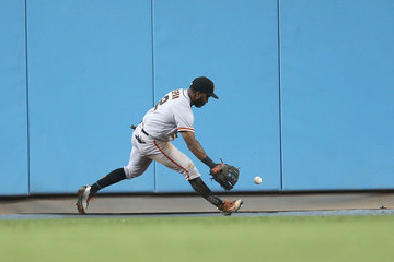 Denard Span San Francisco Giants v Los Angeles Dodgers