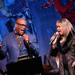 Deniece Williams Quincy Jones Hosts Jazz Foundation LA Fundraiser - Honoring Johnny Mathis