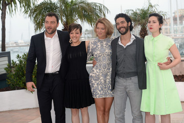 Denis Menochet Rebecca Zlotowski 'Grand Central' Photo Call in Cannes