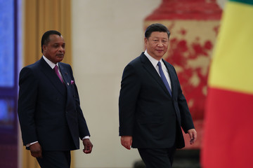 Denis Sassou Nguesso President Xi Jinping Meets African Leaders