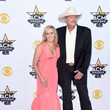 Denise Jackson 50th Academy Of Country Music Awards - Arrivals