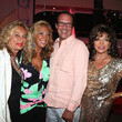 Joan Collins and Denise Rich Photos