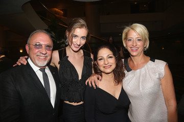 Hannah Lynch Denise Rich, Emilio & Gloria Estefan and Selenis Leyva Celebrate Special Performance of 'ON YOUR FEET!'