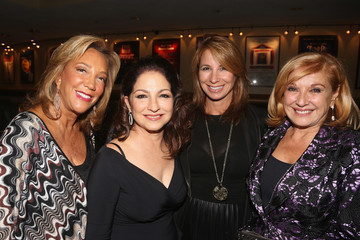 Denise Rich Michele Rella Denise Rich, Emilio & Gloria Estefan and Selenis Leyva Celebrate Special Performance of 'ON YOUR FEET!'