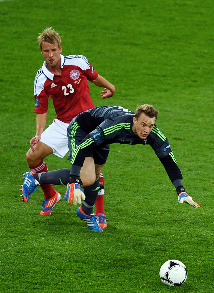 tobias mikkelsen in denmark v germany group b uefa euro. Black Bedroom Furniture Sets. Home Design Ideas