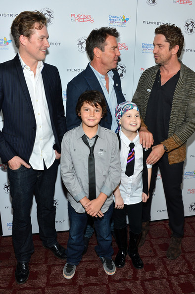 Dennis Quaid images Dennis and his kid wallpaper and background photos