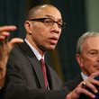 Dennis Walcott Bloomberg Discusses Obama's Gun Control Proposals And NYC School Bus Strike